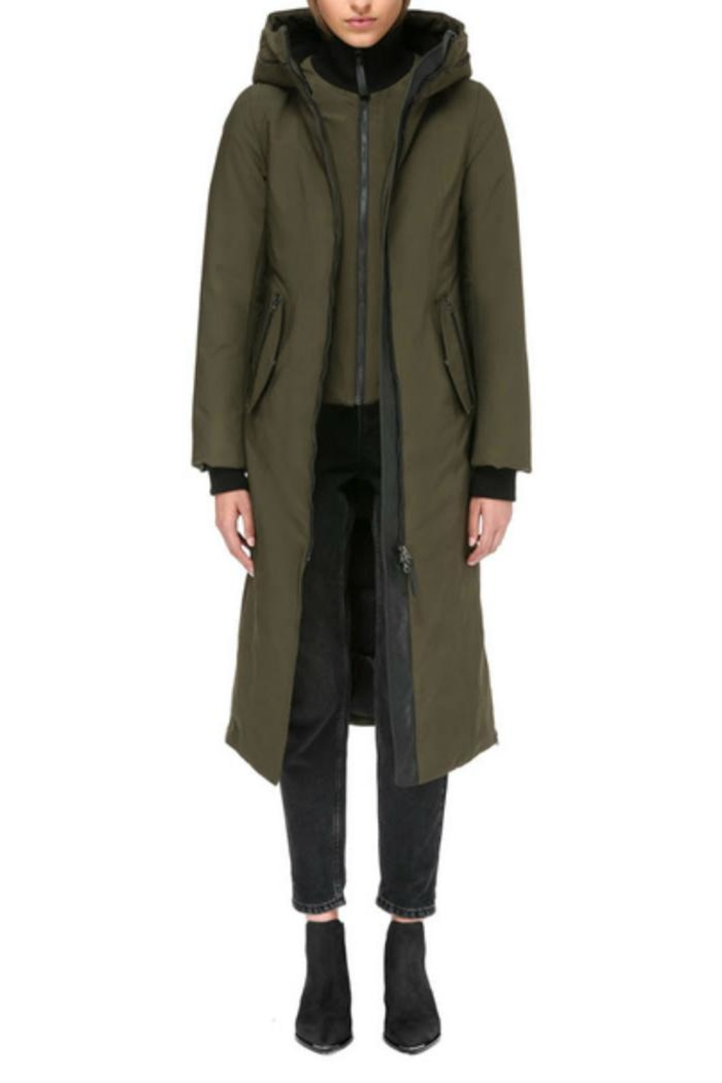 Mackage Rebeka Down Coat - Front Full Image