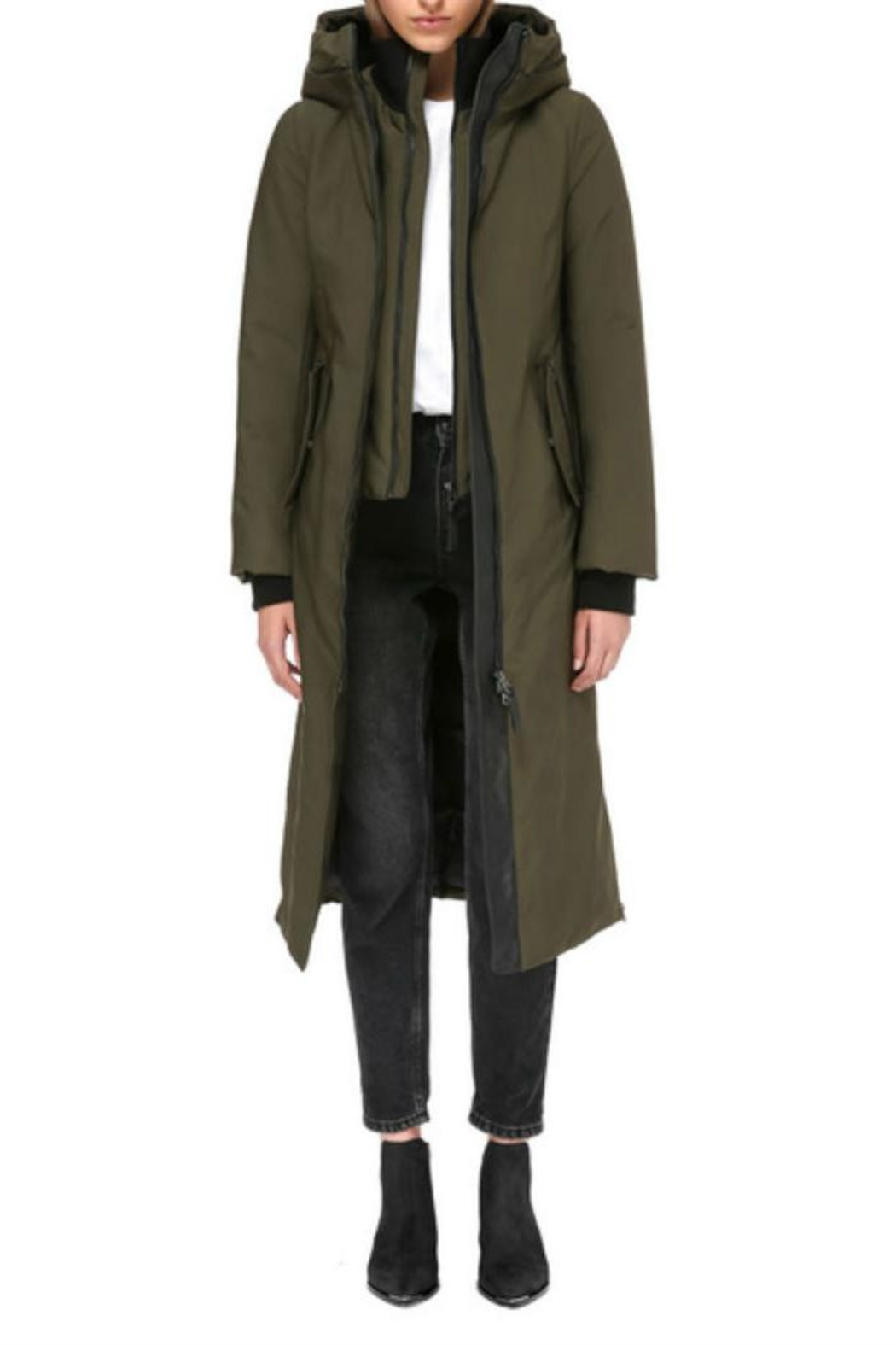 Mackage Rebeka Down Coat - Side Cropped Image