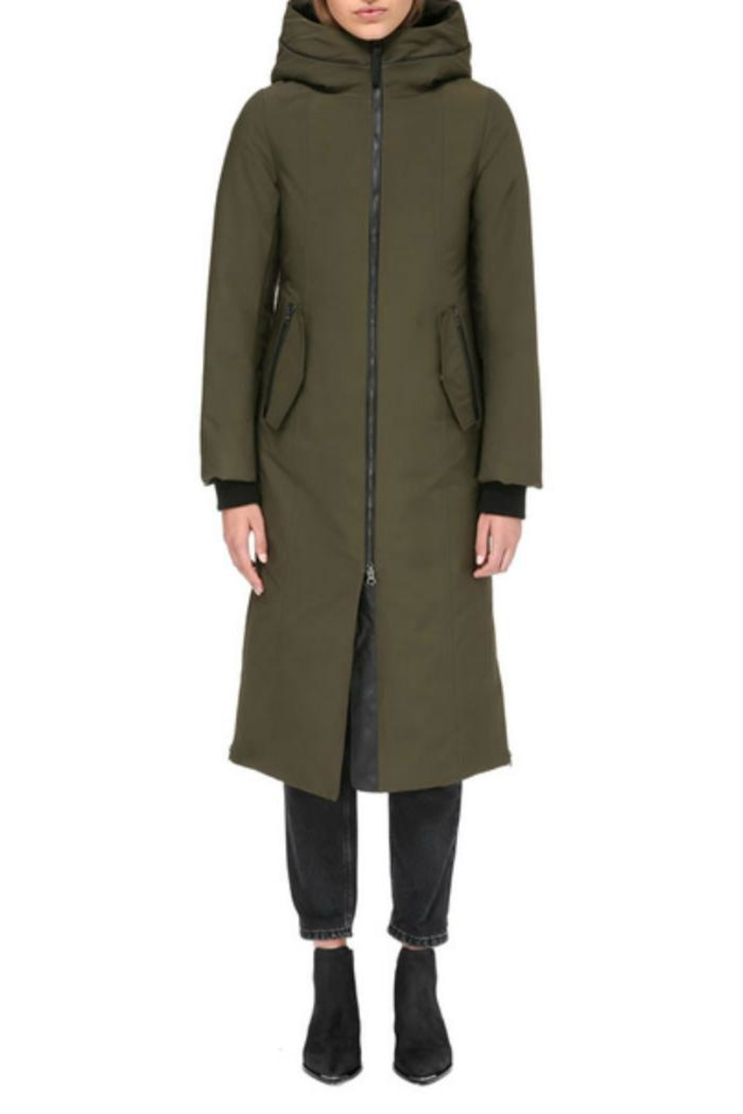 Mackage Rebeka Down Coat - Front Cropped Image