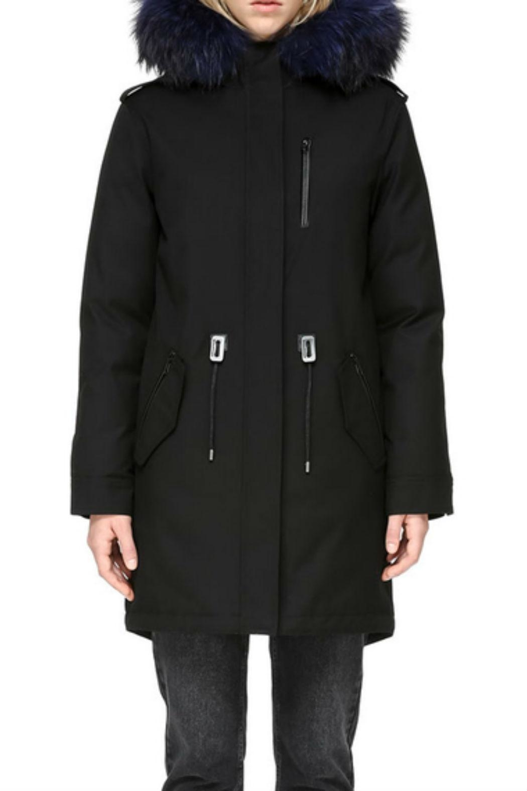 Mackage Rena-D Down Parka - Front Cropped Image