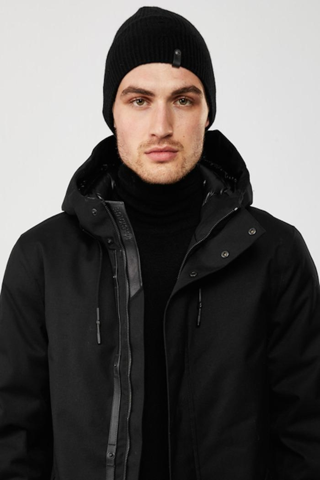 Mackage Tazio-R Cashmere Wool Beanie - Front Full Image