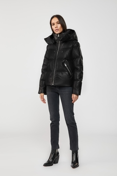 Mackage Tory Leather Down Jacket - Product List Image