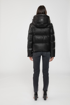 Mackage Tory Leather Down Jacket - Alternate List Image