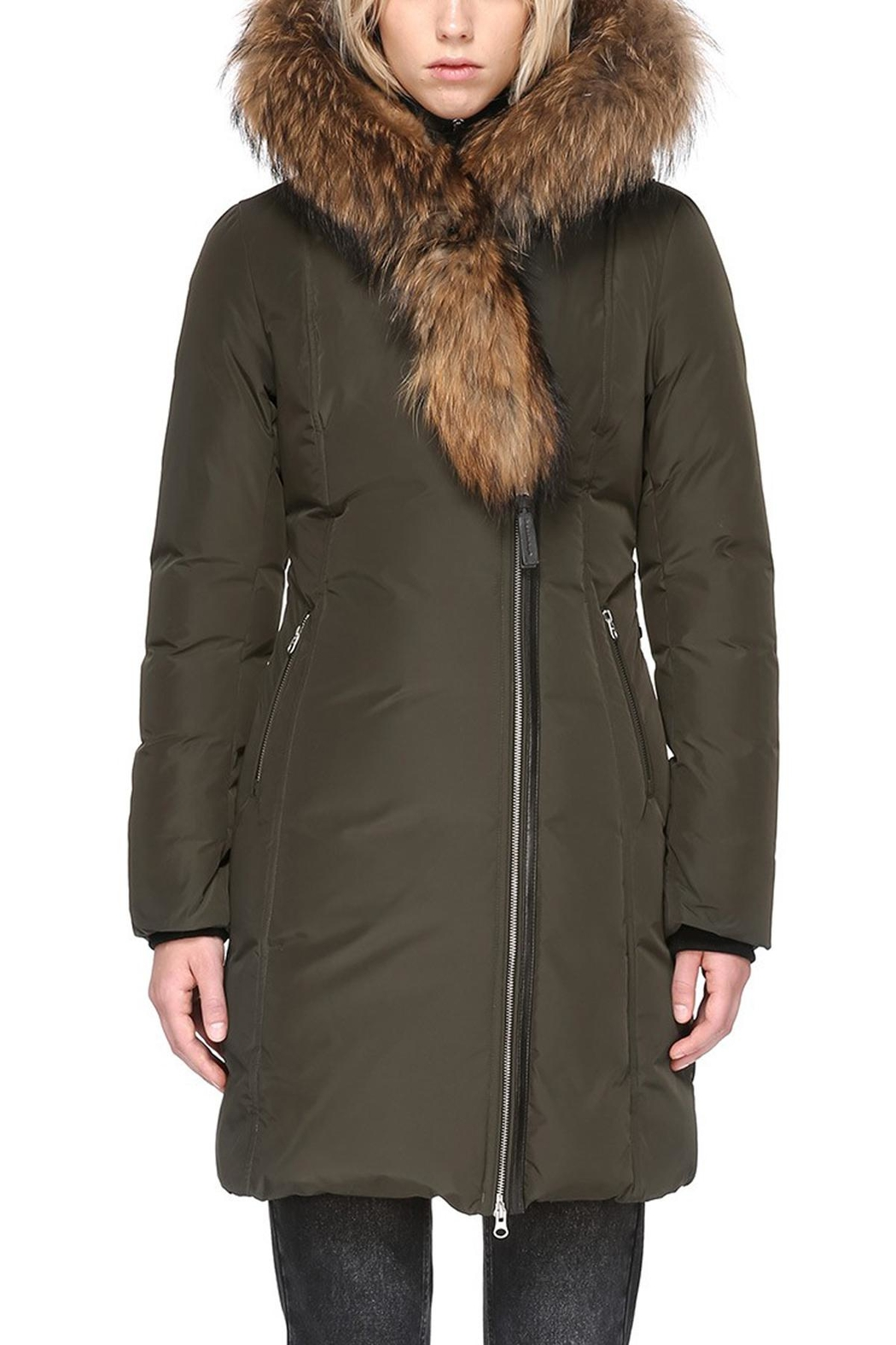 Mackage Trish Army Parka - Side Cropped Image