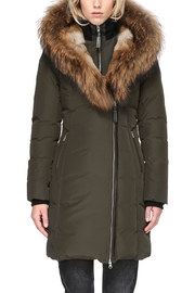 Mackage Trish Army Parka - Front cropped