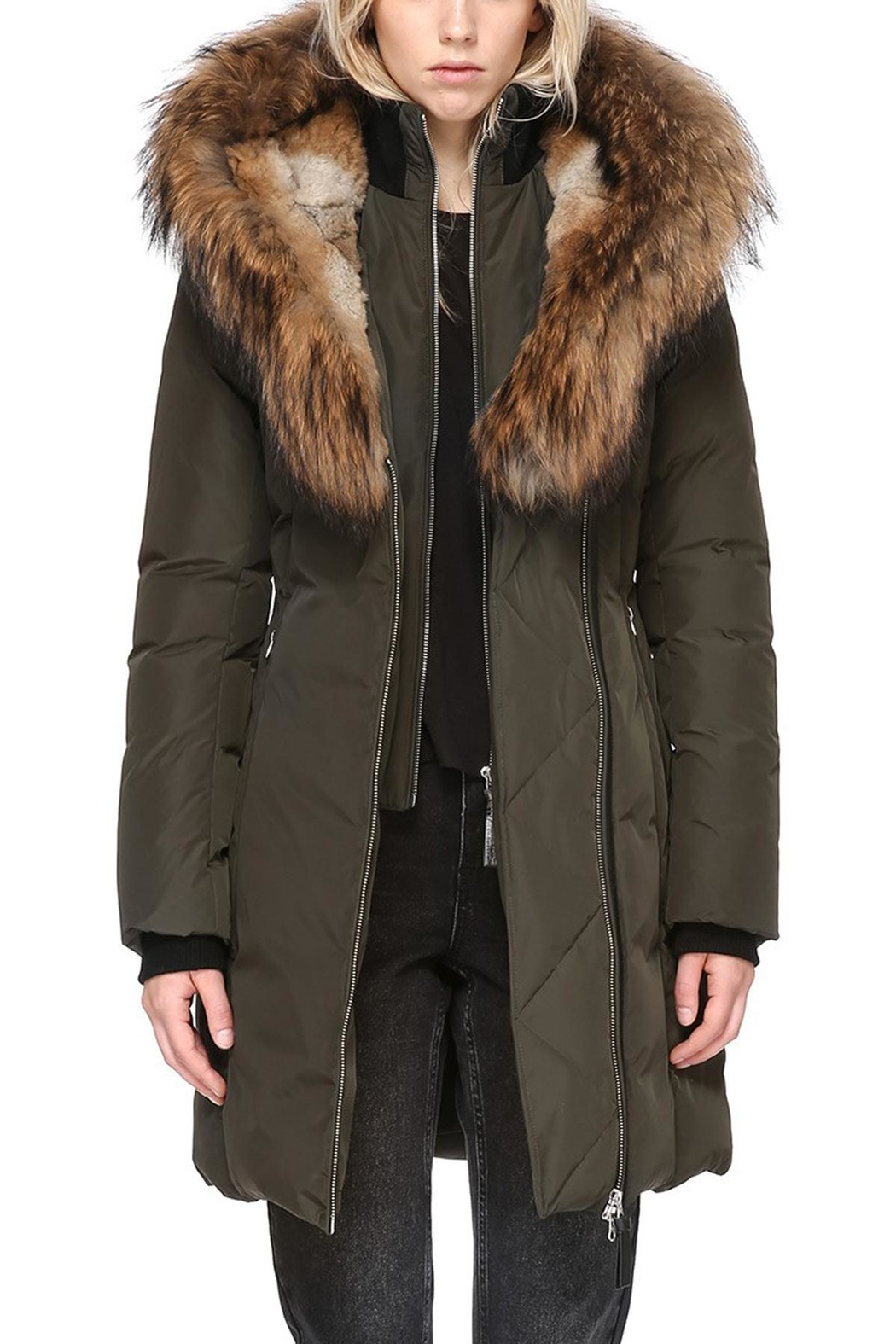 Mackage Trish Army Parka - Front Full Image