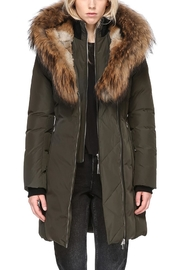 Mackage Trish Army Parka - Front full body