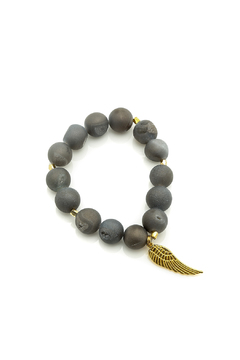 Shoptiques Product: Druzy Beaded Bracelet