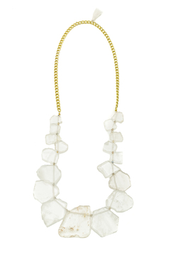 Mackbeth Raw Quartz Necklace - Product List Image