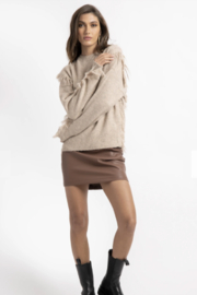 Bishop + Young Mackenzie Fringe Sweater - Front cropped
