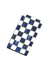 Mackenzie Childs Royal Check Guest Napkins - Product Mini Image