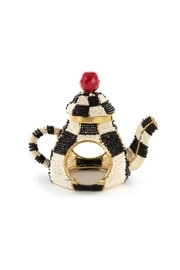 Mackenzie Childs Tea Kettle Napkin Rings - Front cropped