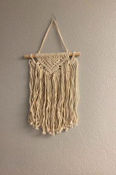 Shoptiques Product: Macrame Brandy Wall Hanging