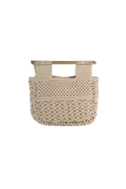 Shiraleah Macrame Fold Clutch - Product Mini Image
