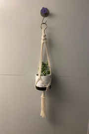 Creative Cords Macrame plant hangers local handcrafted - Front cropped
