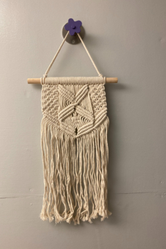 Shoptiques Product: Macrame Sally Wall Hanging