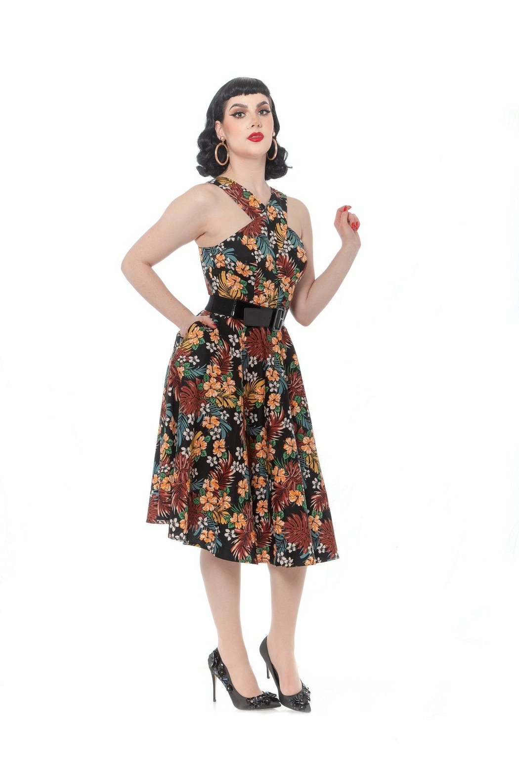 Rebel Love Clothing Mad-For-Maui Dress - Side Cropped Image