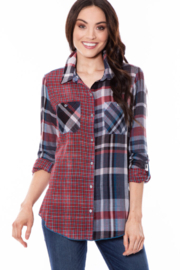 Multiples Mad For Plaid Shirt - Product Mini Image