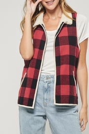 Andree by Unit Mad For Plaid vest - Product Mini Image