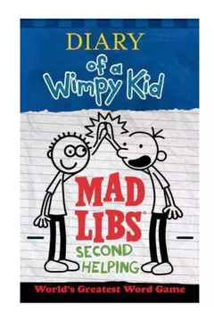 Penguin Books Mad Libs: Diary Of A Wimpy Kid Second Helping - Alternate List Image