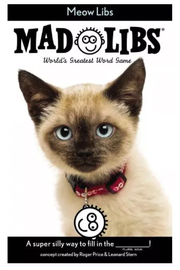 Penguin Books Mad Libs: Meow Libs - Front cropped