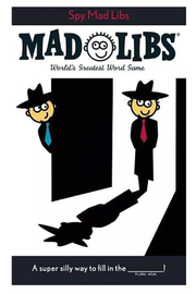 Penguin Books Mad Libs: Spy Mad Libs - Front cropped