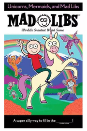 Penguin Books Mad Libs: Unicorns, Mermaids, And Mad Libs - Front cropped