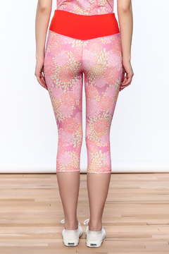 Mad Style Pink Yoga Capri - Alternate List Image