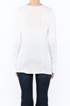 Mad Style White Draping Top - Alternate List Image