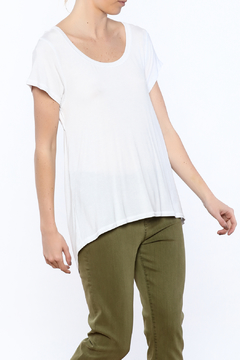 Mad Style White Open Back Top - Product List Image