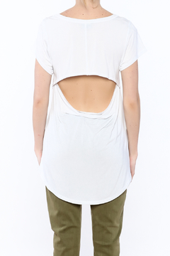 Mad Style White Open Back Top - Alternate List Image