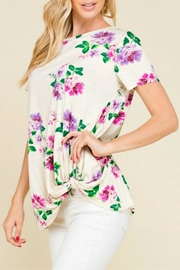 Mad Fit Beth Floral Tee - Product Mini Image