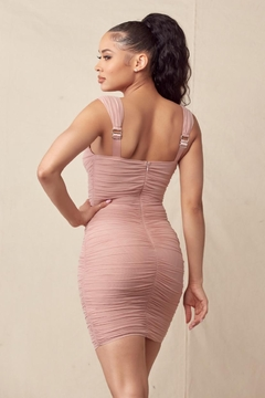 Mad For Love Dusty Pink Dress - Alternate List Image