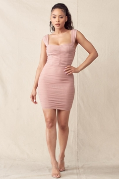 Mad For Love Dusty Pink Dress - Product List Image