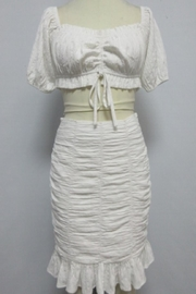 Mad For Love Off-White Skirt Set - Product Mini Image