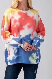 Mad For Love Water Color Sweater - Other