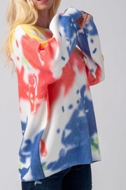 Mad For Love Water Color Sweater - Back cropped