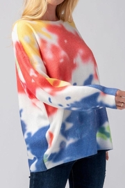 Mad For Love Water Color Sweater - Front full body