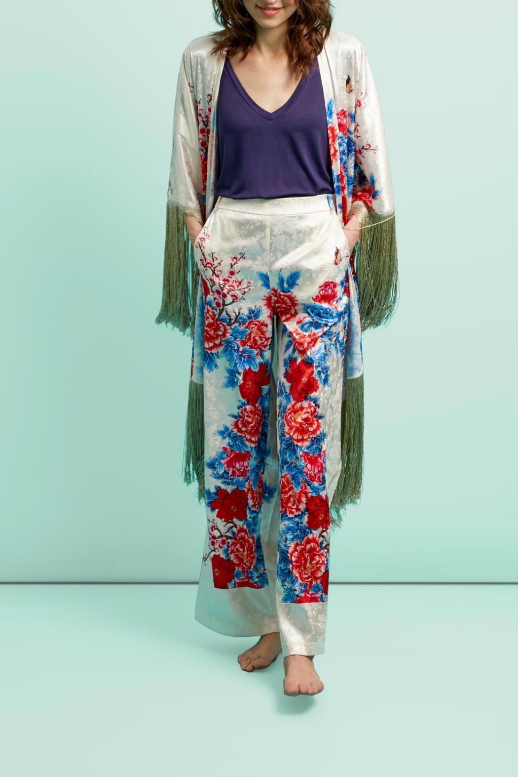 Traffic People Madame Butterfly Kimono - Front Full Image