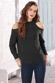 Mud Pie Madden Cold Shoulder Sweater - Product Mini Image