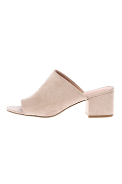 Shoptiques Product: Beige Slip-On Sandal