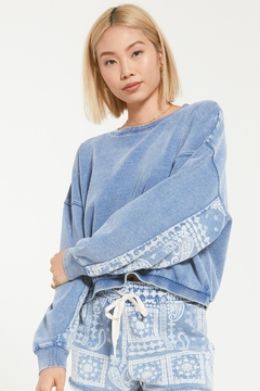 Z Supply  Maddie Bandana Pullover - Product List Image