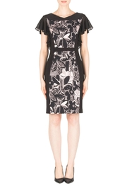 Joseph Ribkoff Maddie Ruffle-Sleeve Dress - Product Mini Image