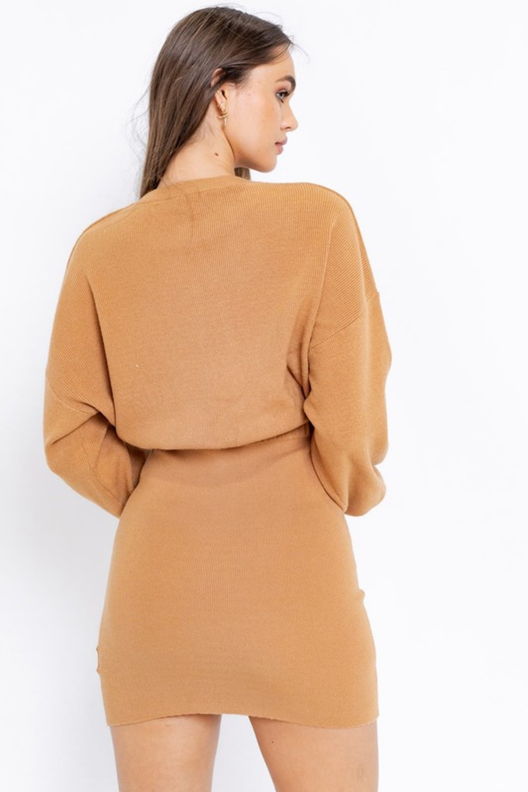 Le Lis Colette Sweater Dress - Side Cropped Image