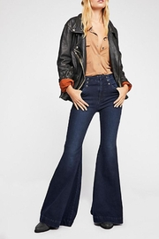 Free People Maddox Denim-Flare Jeans - Product Mini Image