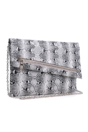 Urban Expressions Maddox Vegan Leather Clutch - Front full body