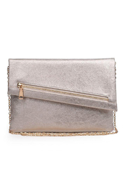 Urban Expressions Maddox Vegan Leather Clutch - Product Mini Image