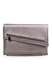 Urban Expressions Maddox Vegan Leather Clutch - Front cropped