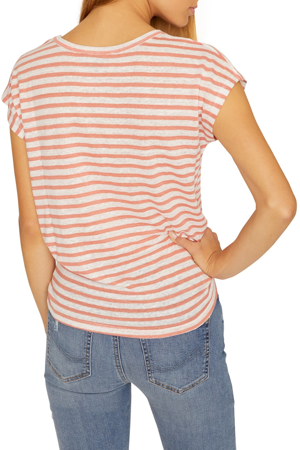 Sanctuary Maddy City Stripe Tee - Side Cropped Image