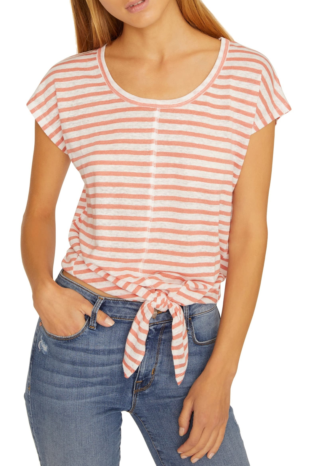 Sanctuary Maddy City Stripe Tee - Front Full Image
